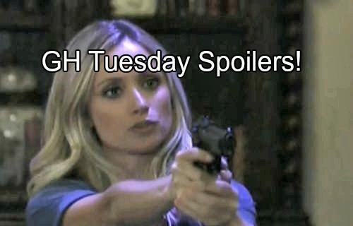 'General Hospital' Spoilers: Will Lulu Shoot Valentin - Jason Opens Fire - Suspicious Paul and Julian Meeting