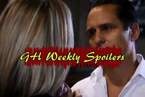 General Hospital Spoilers: Week of March 27 - Sonny Pushes Carly To Divorce - Valentin Visits Alexis, Accuses Anna