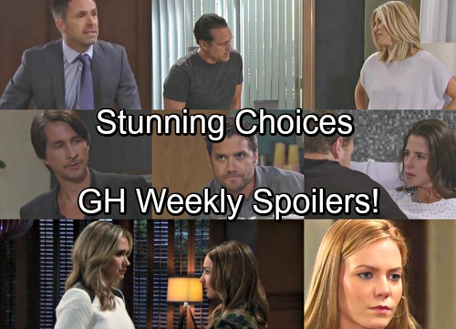 General Hospital Spoilers: Week of August 14 – Stunning Choices, Bold Moves and Difficult Destinies