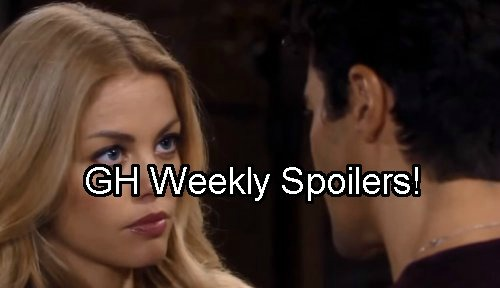 'General Hospital' Spoilers: Week of October 3 – Morgan Comes on to Nelle – Claudette Spills to Griffin – Alexis Drunk Again