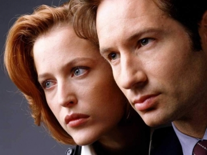 Gillian Anderson And David Duchovny Reunite At Comic-Con