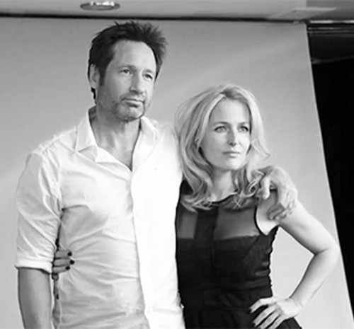 Gillian Anderson And David Duchovny Reunite At X-Files Panel in New York