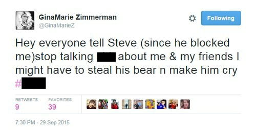 Big Brother 17 Steve Moses: GinaMarie Zimmerman Destroys BB17 Winner For Attack on Amanda Zuckerman in Brutal Twitter War
