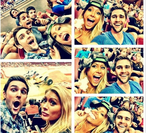 Big Brother 15 Racist GinaMarie Zimmerman and Nick Uhas Monster Truck Date (PHOTOS)