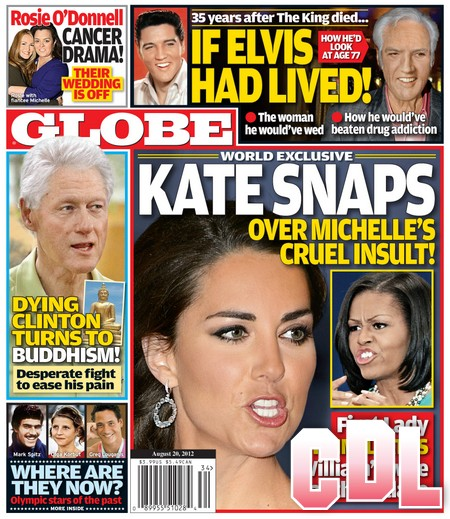 GLOBE: Kate Middleton Snaps Over Michelle Obama's Cruel Insult! (Photo)