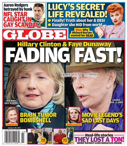 GLOBE: Shocking Health News For Hollywood