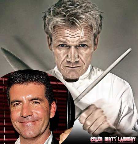 Simon Cowell Bites into Gordon Ramsay Empire