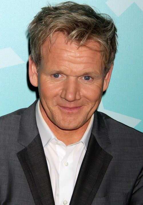 Hell's Kitchen - Gordon Ramsay Going Bald - Wears Wig To Cover Hair Transplant