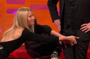 Gwyneth Paltrow Felt Up Random Dude's Genitalia To Make People Like Her - Pathetic or Disgusting?
