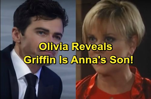 General Hospital Spoilers: Olivia Reveals Life-Changing Secret - Griffin is Anna's Son Given Up For Adoption