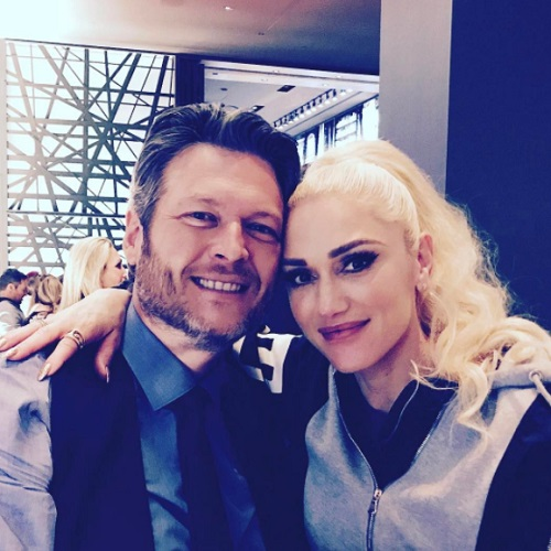 Blake Shelton loves having Gwen Stefani by his side