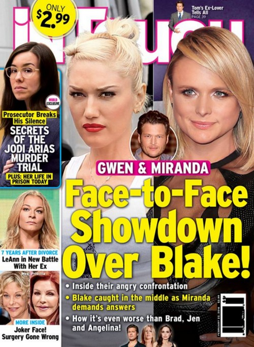 Gwen Stefani and Miranda Lambert Showdown: Did Blake Shelton Cheat on Miranda With Gwen Before Divorce?