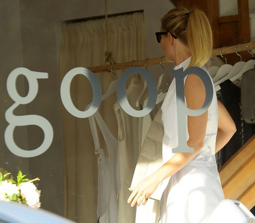 Gwyneth Paltrow Finally Shows Up At Goop Store (PHOTOS)