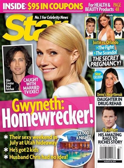 Gwyneth Paltrow Dating and Cheating with Married Glee Creator Brad Falchuk - Chris Martin Betrayed Again (PHOTO)