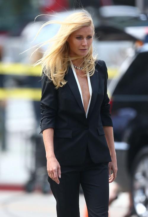 Gwyneth Paltrow Films For Hugo Boss In Los Angeles