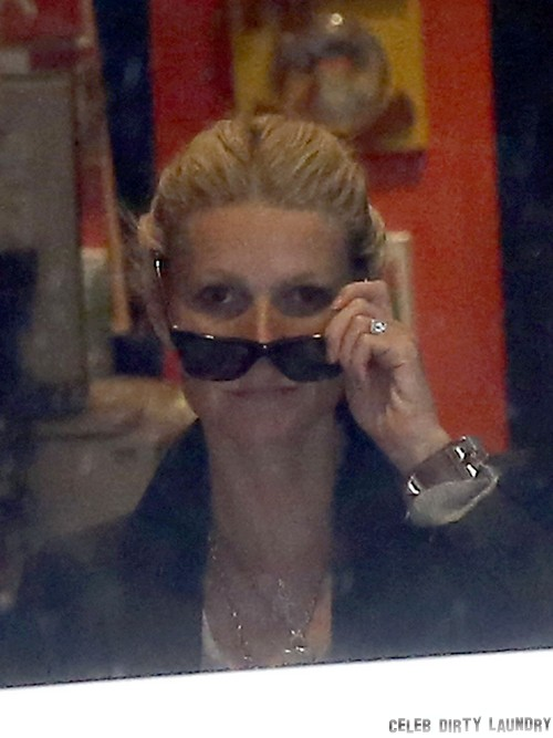 Exclusive... Gwyneth Paltrow, Chris Martin and the Kids Visit Paris