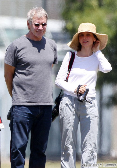 Harrison Ford and Calista Flockhart Marriage Trouble - Report