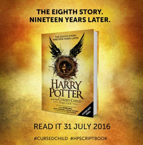 Harry Potter and the Cursed Child - Parts I & II by J.K. Rowling and Jack Thorne: Book 8 in Harry Potter Series