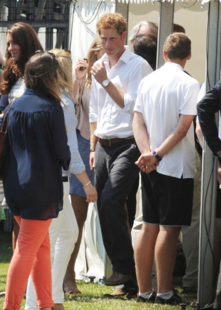 Prince Harry Ditches Olympics For New Girlfriend, Cressida Bonas 0730