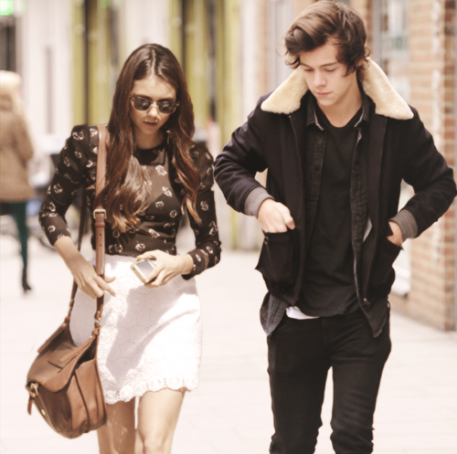 "Harry Styles and Nina Dobrev New Couple Alert - One Direction Stud Says ""YES!"" (Video)"