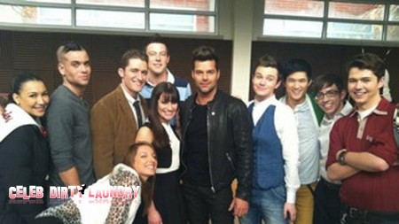 Ricky Martin Gets His Mash-Up On With the Cast of Glee