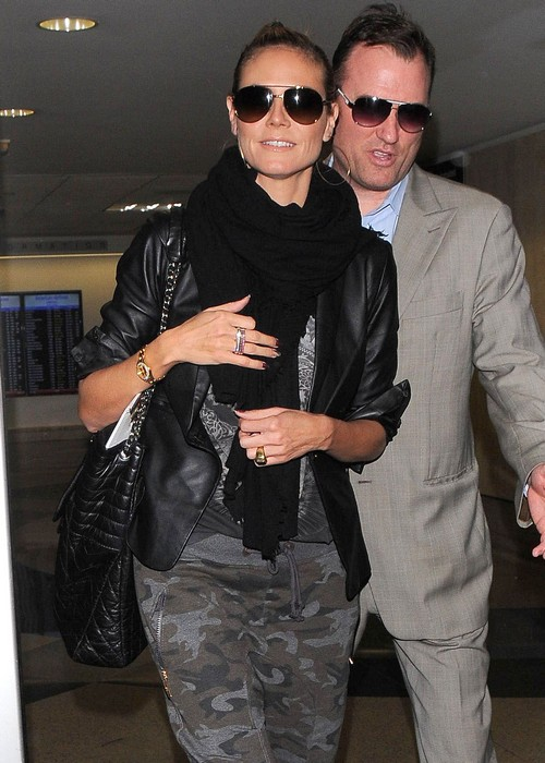 Heidi Klum Gross PDA With Boytoy Vito Schnabel - Seal Disgusted and Jealous