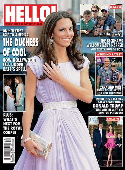 Hello Magazine: Kate Middleton 'The Duchess Of Cool'