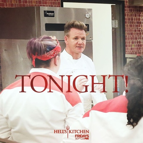 Hell 39 S Kitchen Premiere Recap 9 23 16 Season 16 Episode 1 18 Chefs Compete Celeb Dirty Laundry