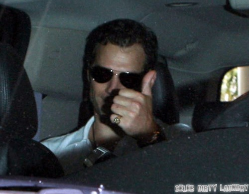 """Henry Cavill and Gina Carano Reunite - Back In Los Angeles To Prep For """"The Man From U.N.C.L.E."""""""
