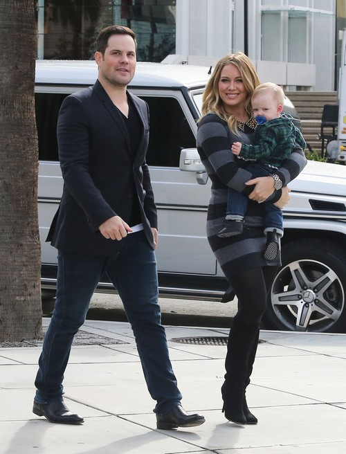 Hilary Duff and Mike Comrie's Divorce: Son Luca Suffers As Couple Separates (PHOTOS)