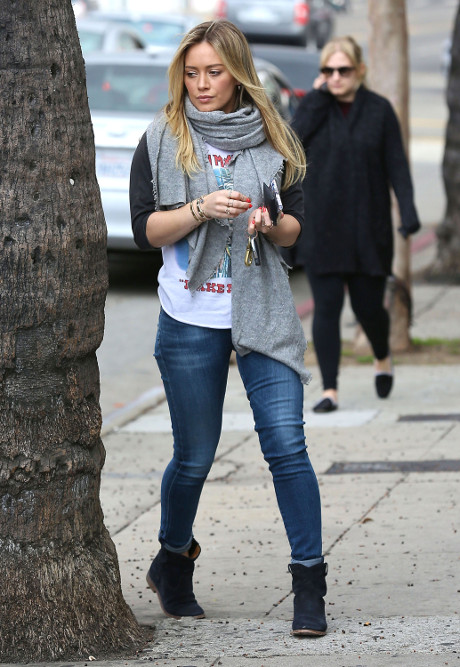 Hilary Duff And Mike Comrie Split Won't Last - Reconciliation Is Imminent, Valentine's Day Love Heals All Wounds