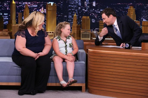 Honey Boo Boo Slaps Mother, Mama June, On Jimmy Fallon Television Show - In Trouble With Fans?