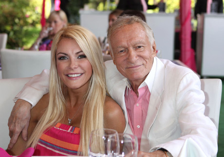 Hugh Hefner & Crystal Harris Divorce Looming on the Horizon?