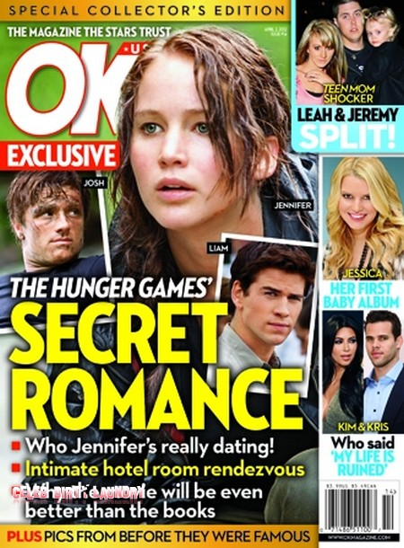 The Hunger Games' Secret Romance - Who Jennifer Lawrence Is Really Dating (Photo)
