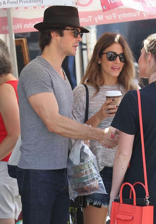 Ian Somerhalder and Girlfriend Nikki Reed Leave Nina Dobrev Sad and Jealous (NEW PHOTOS)