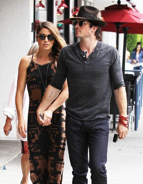 Ian Somerhalder and Nina Dobrev Vampire Diaries Season 6 Feud Over Nikki Reed Worsens - Stars Both Quitting?