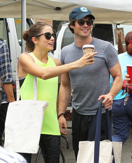 Ian Somerhalder Talks Marriage and Wedding with Nikki Reed - Nina Dobrev Disgusted With Them Both
