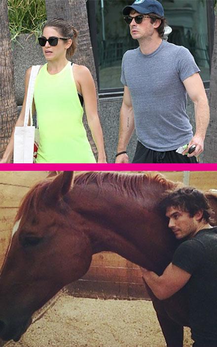 Ian Somerhalder and Nikki Reed Adopt A Horse Together: Relationship Taken To Next Level - Nina Dobrev Furious? (PHOTO)