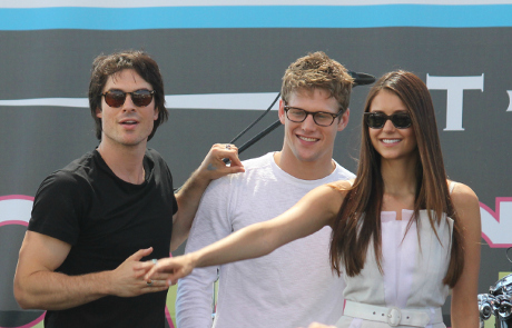 Ian Somerhalder and Nina Dobrev Engaged to be Married?