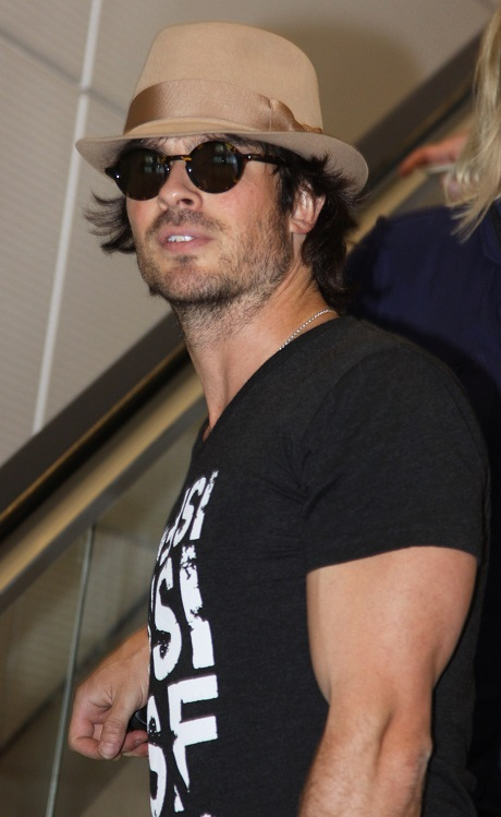 Ian Somerhalder Dating Nina Dobrev: Relationship The Perfect Publicity Stunt To Promote Ian's Lackluster New Movie 'The Anomaly'!
