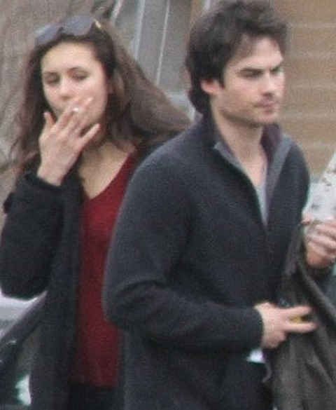Nina Dobrev Loves Ian Somerhalder But He's Still Cold and Angry (Photos)