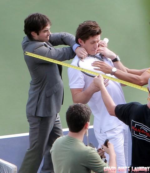 Fifty Shades Of Grey Movie: Ian Somerhalder and Matt Bomer Wrestle For Christian Grey Role!