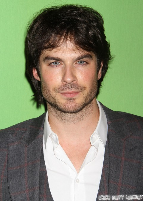 Ian Somerhalder Makes Nina Dobrev Jealous By Kissing Another Woman