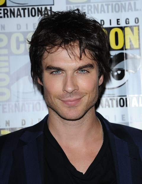 """""""Vampire Diaries"""" Press Conference At San Diego Comic-Con 2012"""