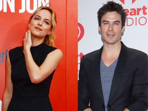 Ian Somerhalder and Dakota Johnson Screen Test: In Talks To Replace Charlie Hunnam in Fifty Shades Of Grey Movie (PHOTOS)
