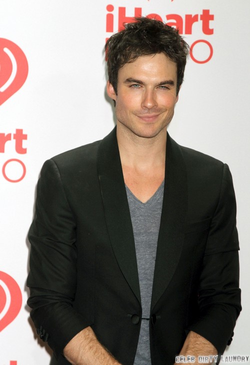 Ian Somerhalder Lies and Says Fifty Shades Of Grey Movie Snub Doesn't Bother Him - Big Case of Sour Grapes!