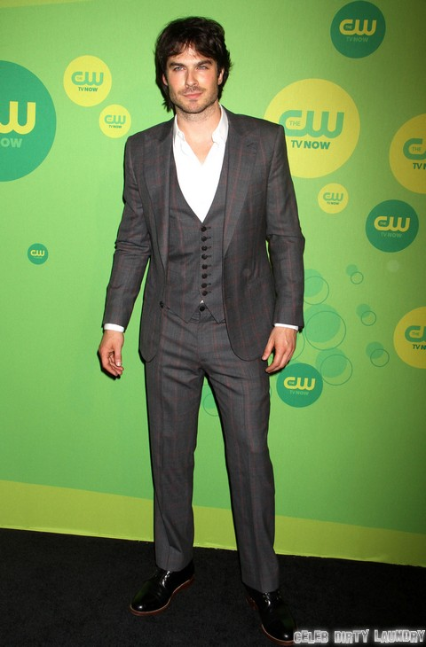 Ian Somerhalder Makes Nina Dobrev Jealous - Kisses Another Woman In Front Of Her!