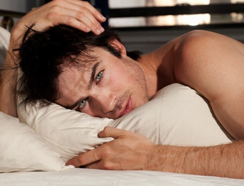 Ian Somerhalder's Love Message To Nina Dobrev: Poses Half-Naked In Bathtub (Photos)