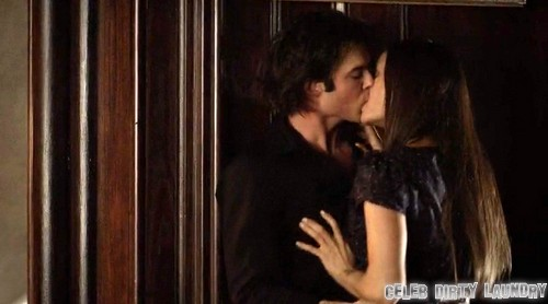 Ian Somerhalder and Nina Dobrev Careful on The Vampire Diaries Set: Afraid To Be Fired and Replaced