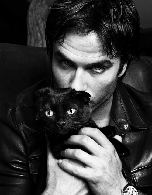 Ian Somerhalder and Nina Dobrev Back Together: Ian Tweets His Love For Nina - Check Out These New Sexy Photos!